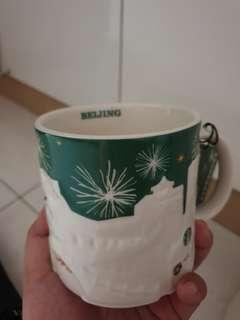 Starbucks relief green mugs - Christmas version Beijing