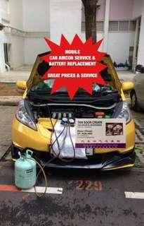 ✅ *ONSITE* Car aircon servicing , car air con repair & CAR BATTERY REPLACEMENT CAR CHANGE BATTERY ! Car aircon service mobile on site car cooling coil car compressor servicing ! Call me now @96682885 for a FREE consultation ✅