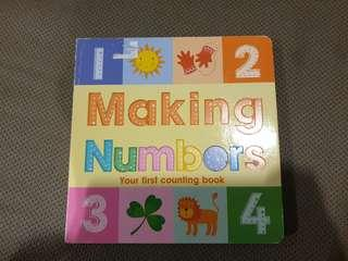 Making numbers counting book