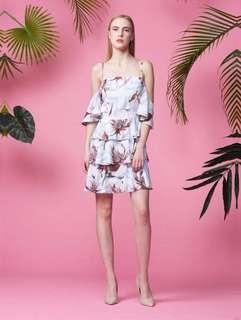 BYSI cold shoulder dress