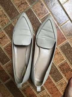 MDS flat shoes nude