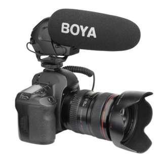Boya BY-BM3030 On Camera Shotgun Microphone - Hypercardioid Video Mic