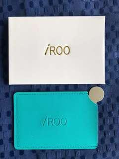 IROO Credit Care size pocket mirror