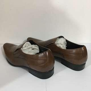 Bata Brown Leather Shoes