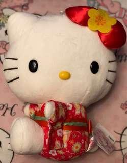 🎀全新未剪牌♡ Sanrio Hello Kitty 和風🌸和服公仔🧸Plush 💕
