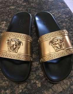 Versace slides - mens size 11US