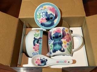 stitch 史迪仔 一套三樣餐具 <購自迪士尼Disney>