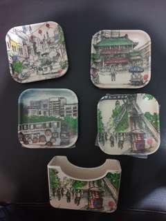 🚚 Bamboo coasters