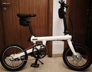 Qicycle foldable Ebike