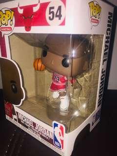 Michael Jordan no.54 (with small box tear)