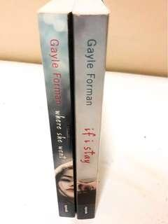 IF I STAY SERIES BY GAYLE FORMAN