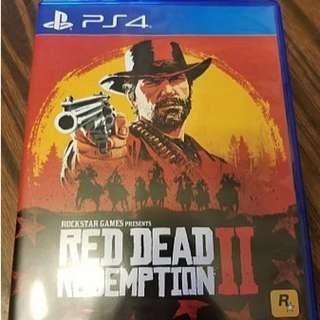 99% NEW PS4 Red Dead Redemption 2 rdr2 碧血狂殺2 (有CODE有MAP)