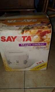 Sayota magic cooker