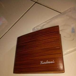 Dompet Pria Fuerdanni Kulit Premium model pendek kulit sintetis