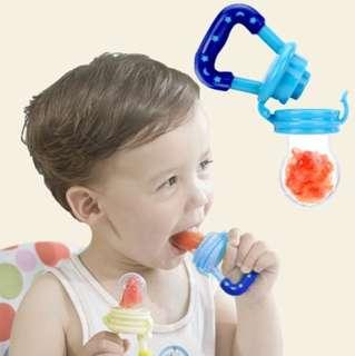 Fresh Food Nibbler Baby Pacifiers Feeder Kids Fruit Feeder Nipples Feeding Safe Baby Supplies Nipple