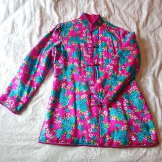 Women's Floral Chinese Style Coat