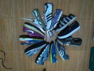 Paket sepatu borongan 12pcs