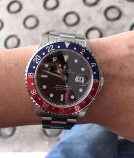 🚚 Rolex gmt master 2 16710