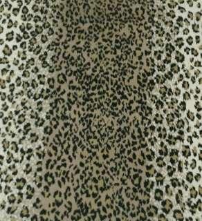 Karpet motif Leopard