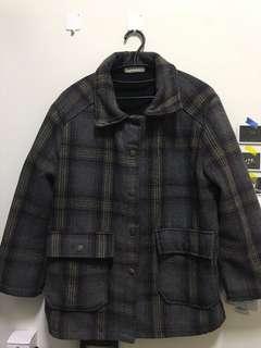 古著 格子 外套