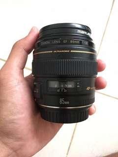 Lensa Canon 85mm f1.8
