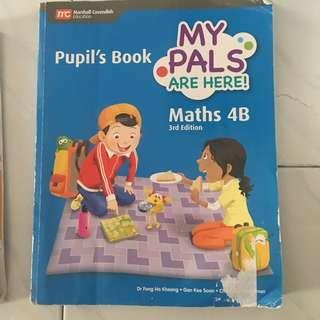 🚚 My Pals are here Maths textbook 4B