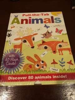 Pull-the-tab Animals