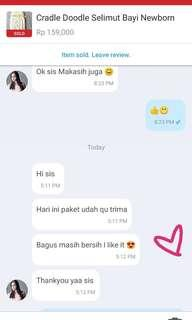 Testimoni my happy customer 🙏💛