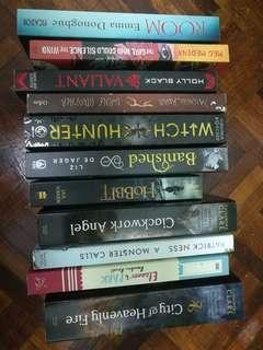 Books (Fantsay, Romance, Drama, Tragedy)
