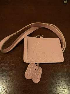 Minnie Mouse Card Holder Lanyard