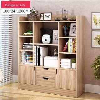 Wooden Book Shelf/Cupboard(preorder)