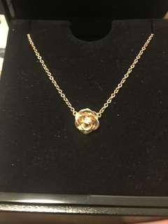 Piaget 18K/PG.Diamond necklace