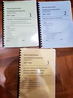 RI H2 Bio Notes