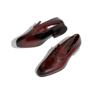 c571a2a82c3 FERRAGAMO RED PENNY LOAFER SHOE