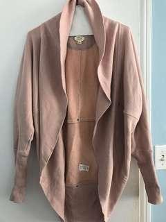 Aritzia Wilfred Light Pink Diderot Sweater Size XXS