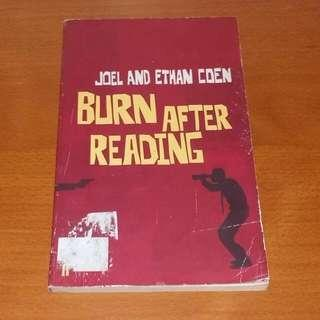 BURN AFTER READING Book 2008