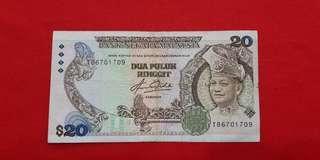 $20 Malaysia 1982