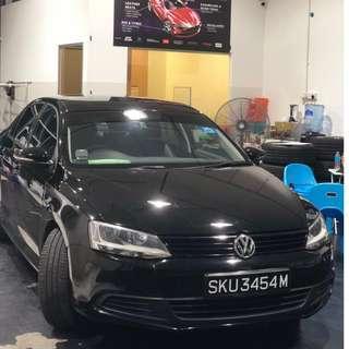 Jetta 2012 Facelift Sporty model
