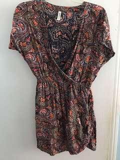 RVCA Small Colorful Dress From Aritzia
