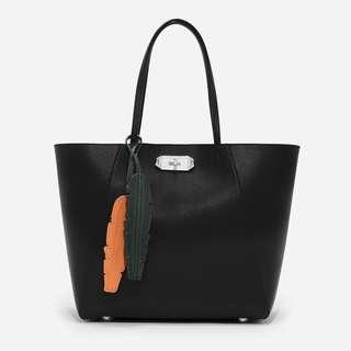 Charles & Keith Oversized Turnlock Tote