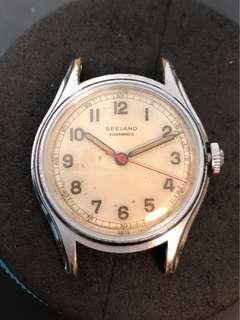 Seeland Quadramatic 撞陀古董自動錶 Bumper automatic watch