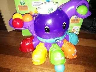 Leapfrog talking octopus