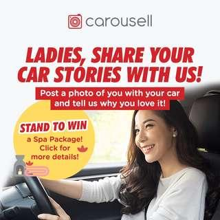 Ladies, Share Your Car Stories With Us!