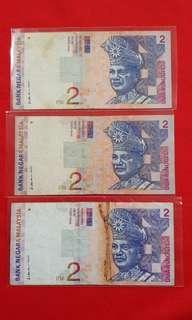 Rm2 Malaysia 1999 side signature