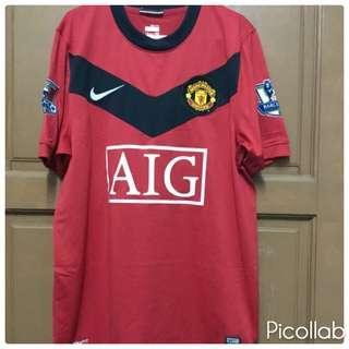 Original Manchester United 2009/2010 Home Kitt Jersey