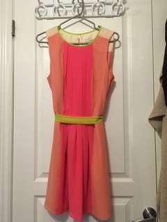 LOFT colourful size 10 dress