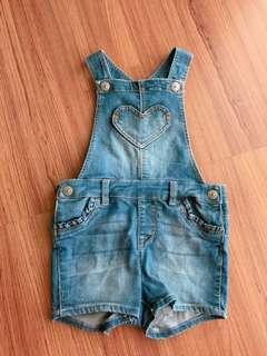 H&M baby girl denim jumper