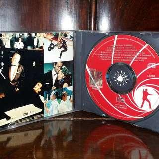 Vintage 1992 THE BEST OF JAMES BOND 30TH ANNIVERSARY Collection Music CD