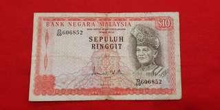 $10 Malaysia 1976