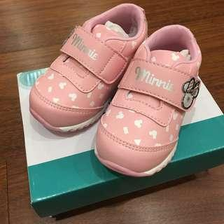 《BABY》麗嬰房 Disney baby 米妮 學步鞋